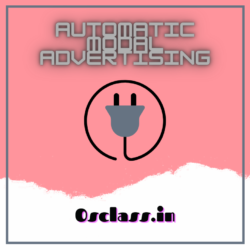 Automatic Modal Advertising