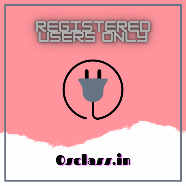 Registered Users Only
