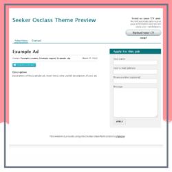 Seeker Osclass Theme